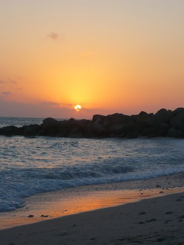 sunset at fort zachary in Key West